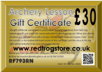 Archery Experience Gift Certificate